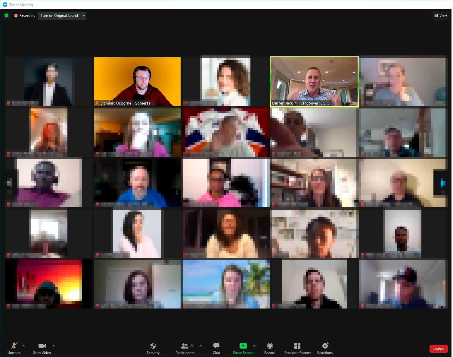 First Global Team call of 2021